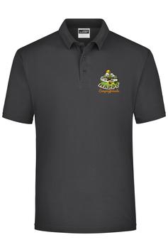 "Polo Shirt ""Happy Campingfriends"""