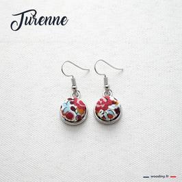 """Boucles d'oreilles """"Turenne"""""""