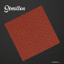 """Pochette de costume """"Sémillon"""""""