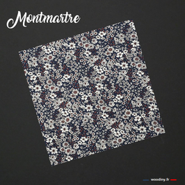 """Pochette de costume bleue """"Montmartre"""""""