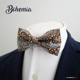 """Noeud papillon motif persan bohème - """"Bohemia"""""""