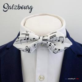 """Noeud papillon """"Salzbourg"""" - forme en pointe"""