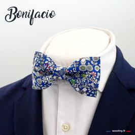 "Noeud papillon bleu ""Bonifacio"""