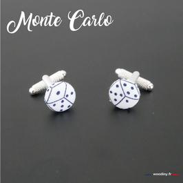 "Boutons de manchette ""Monte Carlo"""