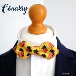 "Noeud papillon jaune ""Conakry"""