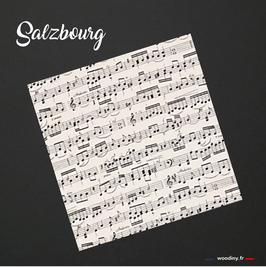 """Pochette de costume partition de musique """"Salzbourg"""""""