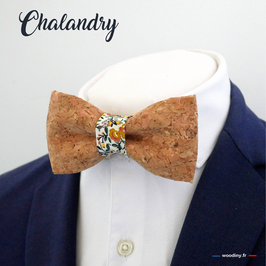 "Noeud papillon liège ""Chalandry"""