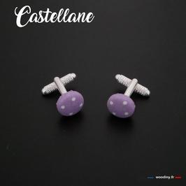"""Boutons de manchette """"Castellane"""""""