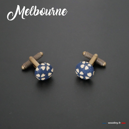 """Boutons de manchette """"Melbourne"""""""