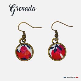 "Boucles d'oreilles ""Grenada"""