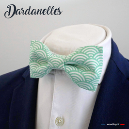 "Noeud papillon vert ""Dardanelles"""
