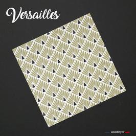 """Pochette de costume dorée """"Versailles"""""""