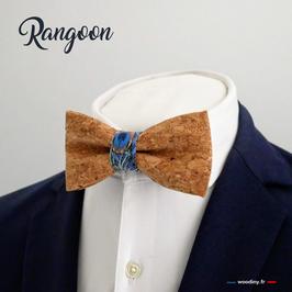 "Noeud papillon liège ""Rangoon"""