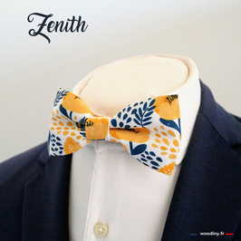 "Noeud papillon jaune ""Zenith"""