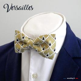 """Noeud papillon doré """"Versailles"""""""
