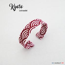 "Bracelet rouge ""Kyoto"""