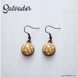 "Boucles d'oreilles ""Salvador"""