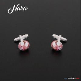 "Boutons de manchette ""Nara"""