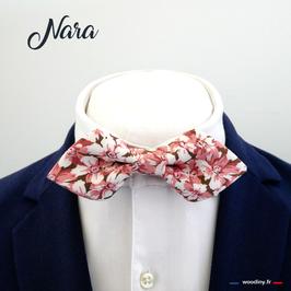 "Noeud papillon ""Nara"" - forme en pointe"