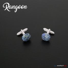 "Boutons de manchette ""Rangoon"""