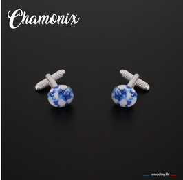 "Boutons de manchette ""Chamonix"""