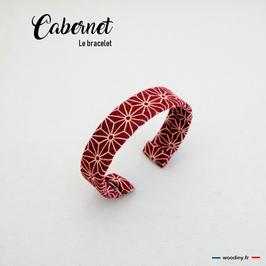 """Bracelet bordeaux """"Carbenet"""""""