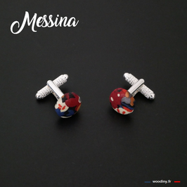 "Boutons de manchette ""Messina"""