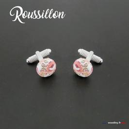 """Boutons de manchette """"Roussillon"""""""