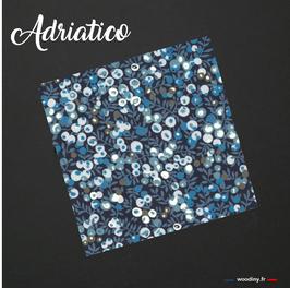 """Pochette de costume bleue """"Adriatico"""""""
