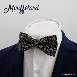 "Noeud papillon noir ""Mouffetard"""