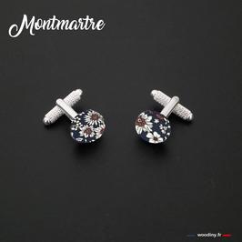 """Boutons de manchette """"Montmartre"""""""