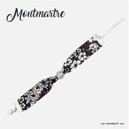 """Bracelet """"Tartan de Noël"""""""