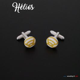 """Boutons de manchette """"Hélios"""""""