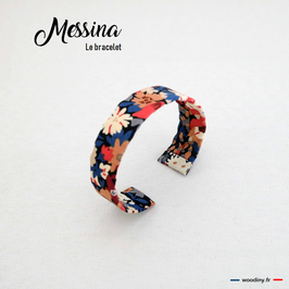 "Bracelet liberty orange ""Messina"""