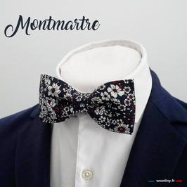 """Noeud papillon """"Montmartre"""" - forme classique"""