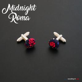 "Boutons de manchette ""Midnight Roma"""