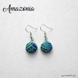 """Boucles d'oreilles """"Amazonia"""""""