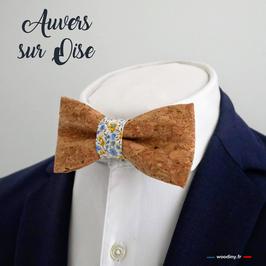 """Noeud papillon liège """"Auvers sur Oise"""""""