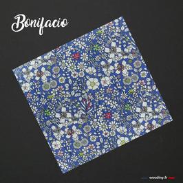 """Pochette de costume bleue """"Bonifacio"""""""
