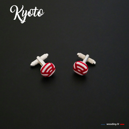 """Boutons de manchette """"Kyoto"""""""