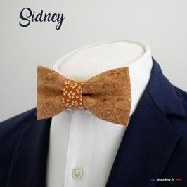 """Noeud papillon en liège """"Sidney"""""""
