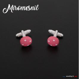 "Boutons de manchette ""Miromesnil"""