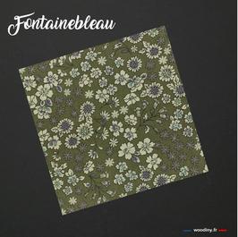 "Pochette de costume verte ""Fontainebleau"""