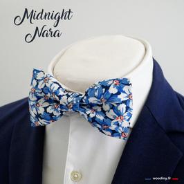 "Noeud papillon bleu ""Midnight Nara"""