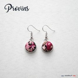 """Boucles d'oreilles """"Provins"""""""