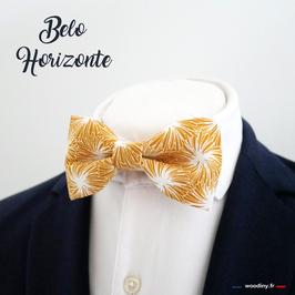 "Noeud papillon jaune ""Belo Horizonte"""