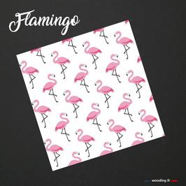 """Pochette de costume  """"Flamingo"""""""