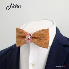 """Noeud papillon en liège """"Nara"""""""