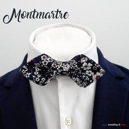 """Noeud papillon """"Montmartre"""" - forme diamant"""