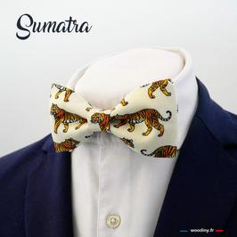 "Noeud papillon motif tigre ""Sumatra"""